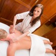 Stock Photo: Professional Massage Therapist