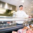 Fresh meat Butcher — Stock Photo