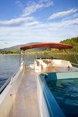 Luxury Boat Owner — Stock Photo