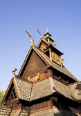 Stave Church Detail — Stock Photo