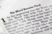 John 1:1 — Stock Photo