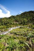 Paesaggio di montagna tropicale — Foto Stock