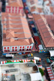 Tilt Shift Chinatown — Stock Photo