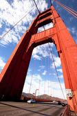Ponte do portão dourado — Fotografia Stock