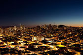 City at Night — Stock Photo