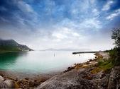 Costa Norvegia — Foto Stock