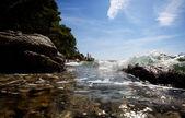 Coast Splash — Stock Photo