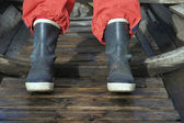Rubber Boots — Stock Photo