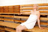 Spa sauna — Stok fotoğraf
