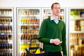 Grocery Store Man — Stock Photo