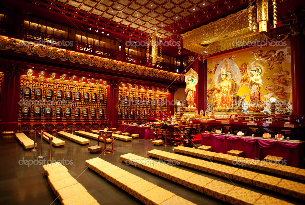 Буддистский интерьер
