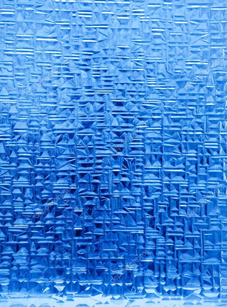 A background texture of blue ice crystals — Stock Photo #5732154