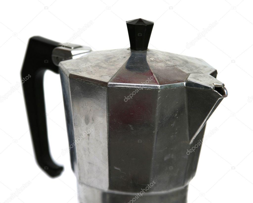 Mocha Espresso Maker ~ Mocha espresso maker — stock photo simplefoto