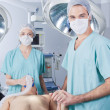 Stock Photo: Medical Team in Surgery