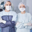 Young confident surgeons - 