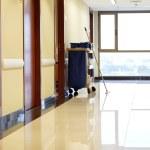 Empty corridor of hospital — Stock Photo