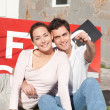 Couple Purchase Home — Stock Photo