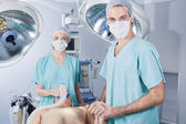 Medical Team in Surgery — Stock Photo