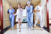 Medical Team Running — Stock Photo