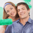 Stock Photo: Painting Couple