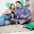 Home Improvement Celebration — Stock Photo