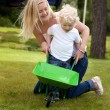 Mother Playing With Child — Stock Photo #6559908