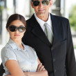 Smart business couple — Foto de Stock