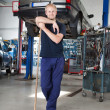Clean Mechanic Garage - Stock Photo