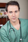 Portrait of male surgeon — Stock Photo