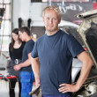 Stock Photo: Portrait of Mechanic in Shop