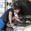 Stock Photo: Auto mechanic working