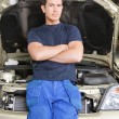 Portrait of a Mechanic - Stockfoto