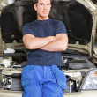 Portrait of a Mechanic — Stock Photo #6581612