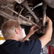 CV Joint Inspection - Stock Photo