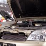 Car in Auto Repair Shop — Stock Photo
