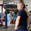 Portrait of Mechanic - Stock Photo