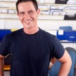Mechanic Portrait Man - Stock Photo