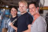 Mechanics Team — Stock Photo