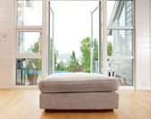 Indoor With Large Outdoor View — Stock Photo