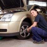 Female Mechanic — Stock Photo