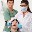 Patient having dental check up — Stock Photo #6617606