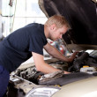 Mechanic Fixing Car — Stock Photo #6620616