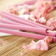 Arotatizirovannye sticks — Stock Photo