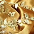 Background of gold cloth — Stock Photo #5835299