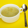 "Stock Photo: Plate ""summer"" soup"