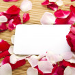 carta e Rose — Foto Stock #6142188