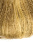 Blonde hair isolated — Stok fotoğraf