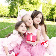 Children's Birthday Party outdoors — Stockfoto #6475193