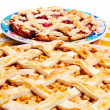 Royalty-Free Stock Photo: Apple & cherry pies