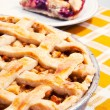 Apple & cherry pies - Stock Photo